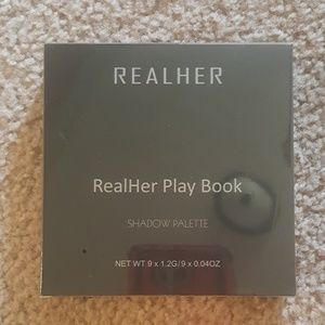 Still sealed RealHer Play Book II shadow palette